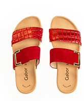 Gabor Slippers Rood 43.740.35 - 3